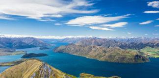 ostrovy na Novom Zélande