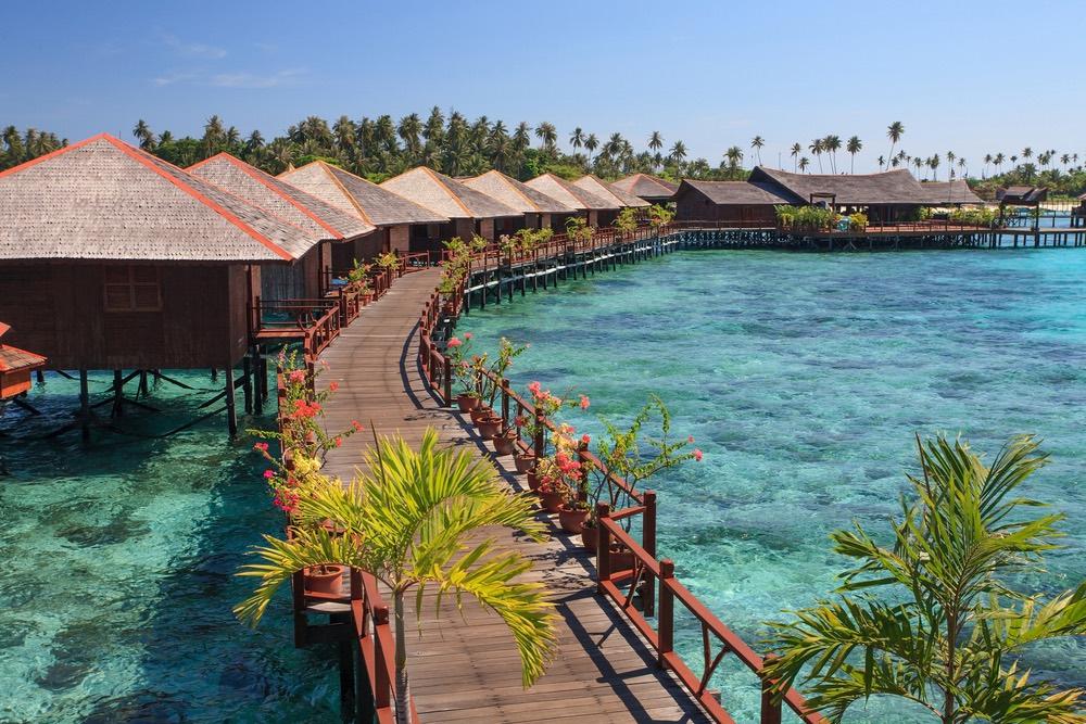Rezort na ostrove Sipadan