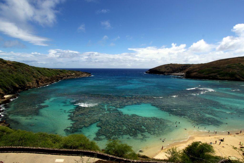 šnorchlovanie havai