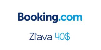 Booking.com 40$ zľava