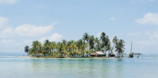 Ostrovy San Blas panama