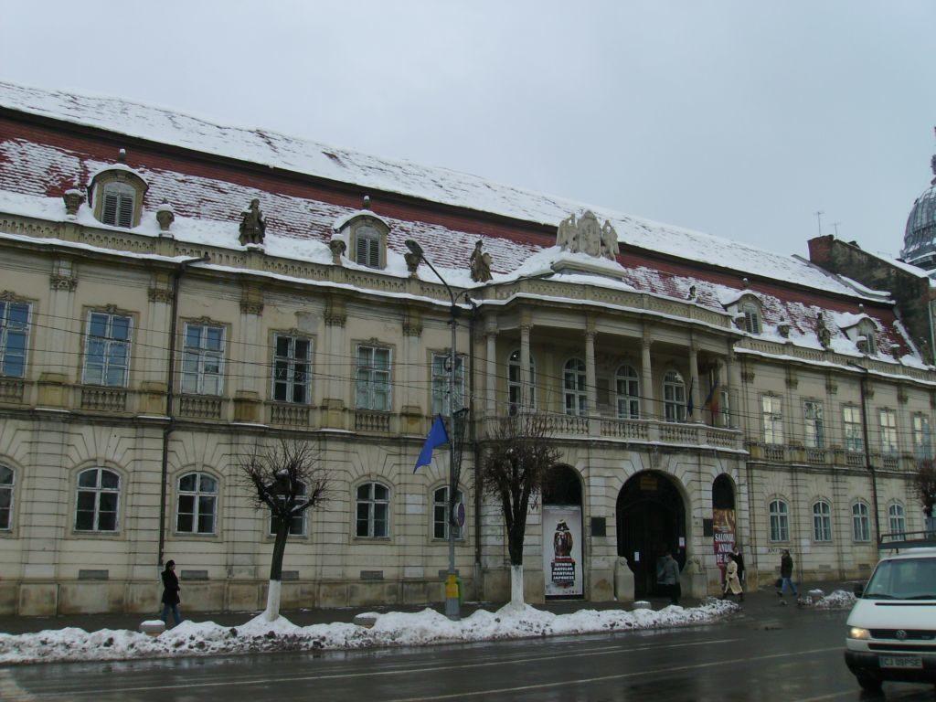 palác Bánffy v meste Kluž