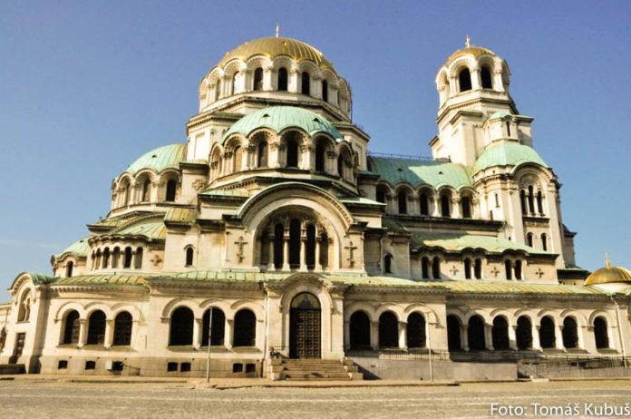 chrám alexandra nevského v sofii