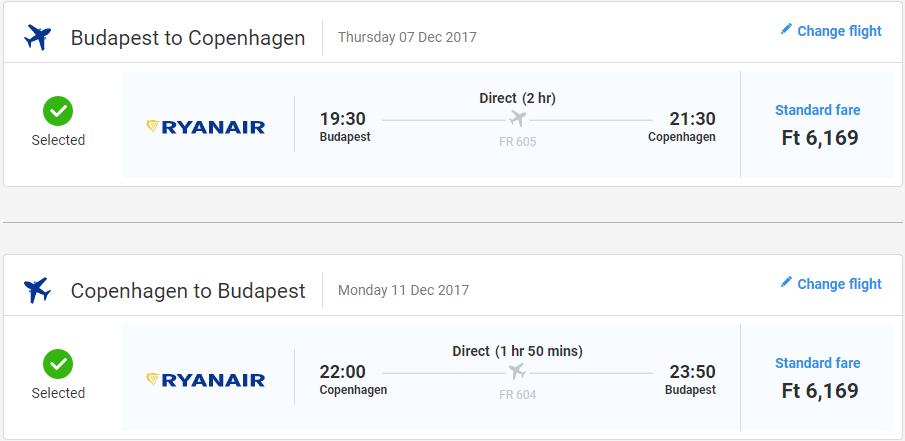 letenky Kodaň