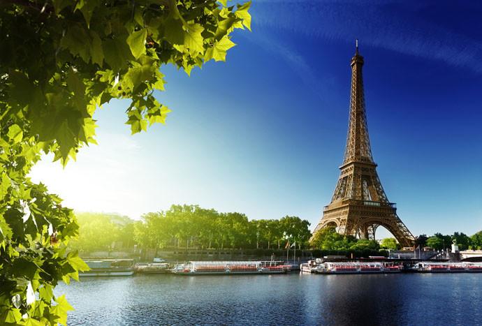Paríž eiffelova veža