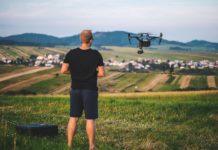 zdronu natacanie s dronom Richard Raymann