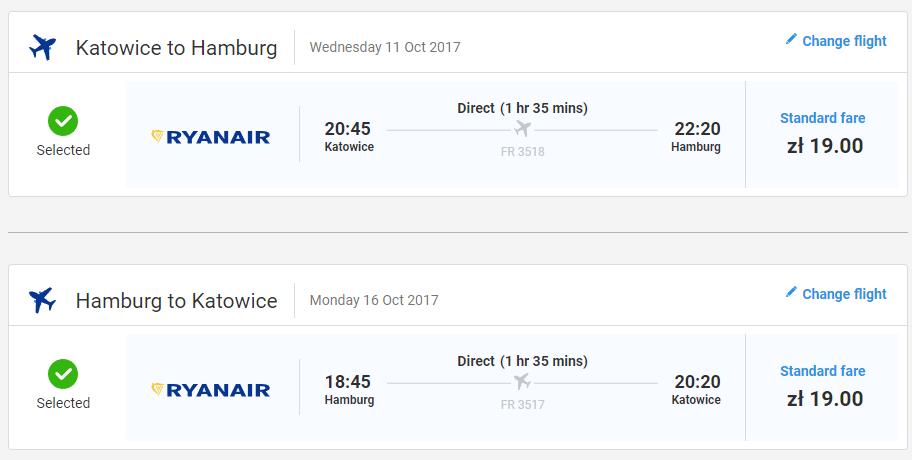 letenky Hamburg