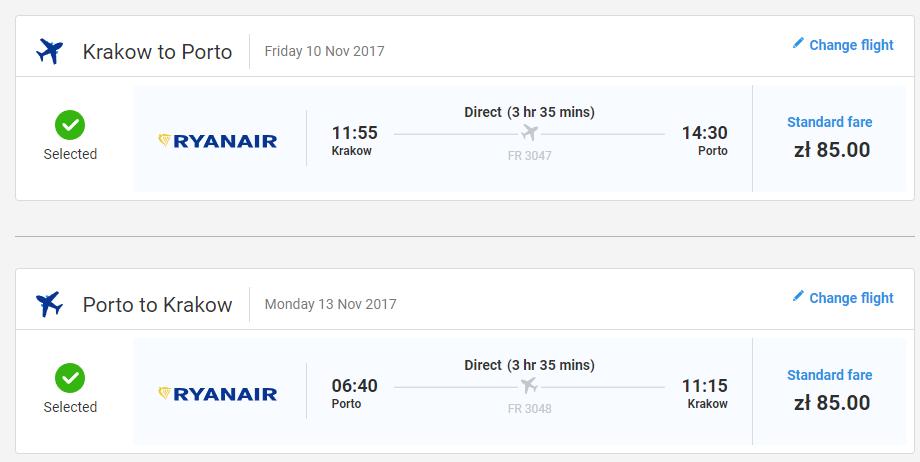eca9664e4581d PORTUGALSKO: Porto so spoločnosťou Ryanair už za 39€! - LETENKY ZA BABKU