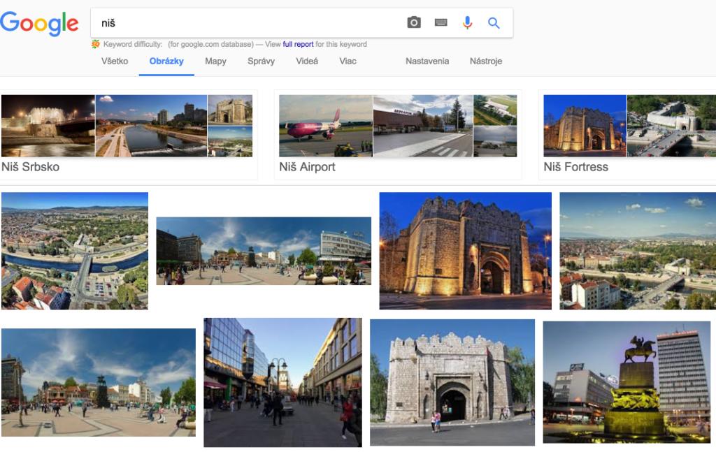 výsledky vyhľadávania pre mesto niš