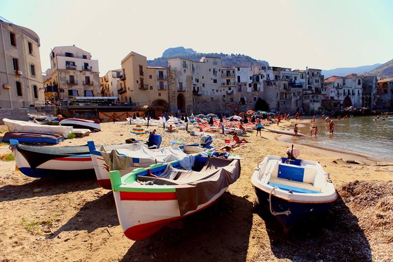 Cefalu na Sicilii