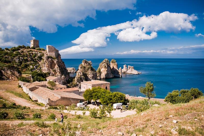 prírodná rezervácia na sicílii zingaro