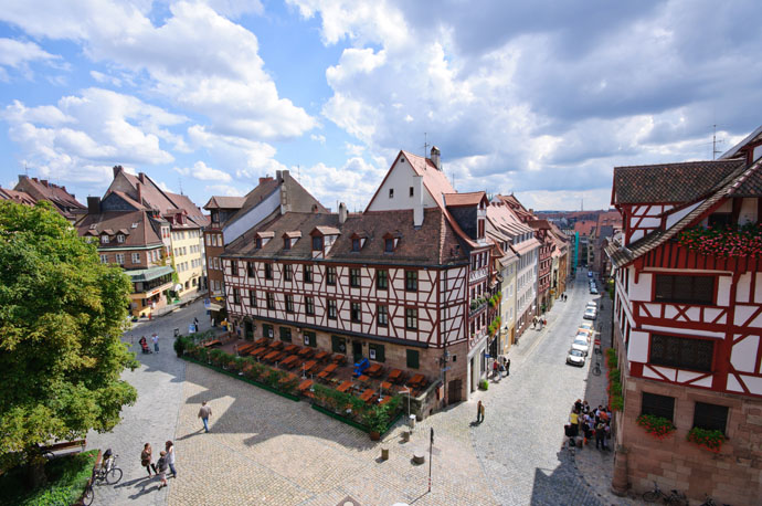 Staré mesto v Norimbergu