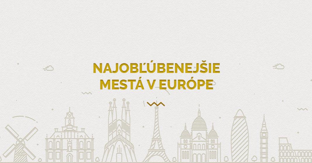 najlepšie mestá v Európe