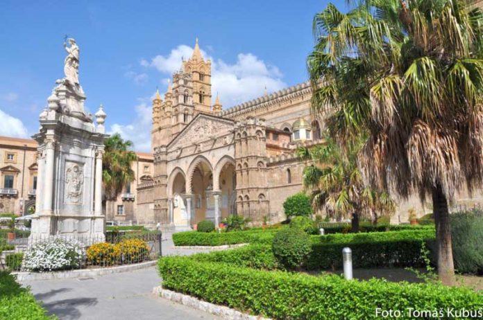 mesto Palermo na Sicílii