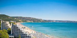 pláž zlaté piesky v Bulharsku