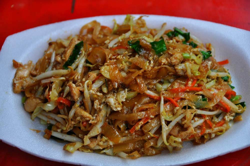 pad thai jedlo