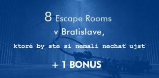 escape rooms v Bratislave