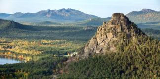 Národný park Burabay v Kazachstane