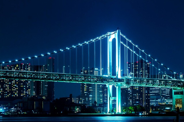 Rainbow Bridge v Tokyu
