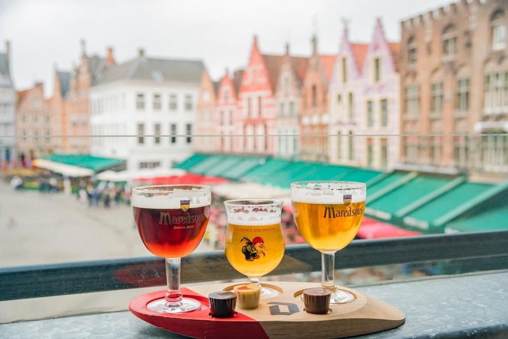 belgické pivo