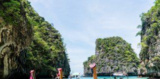Ostrovy Phi Phi v Thajsku