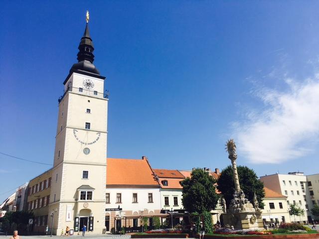 kostol v trnave veža mestská