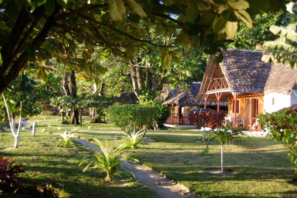 ostrov, bungalov