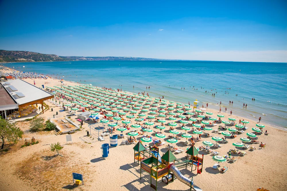 Dovolenka v Bulharsku zlaté piesky