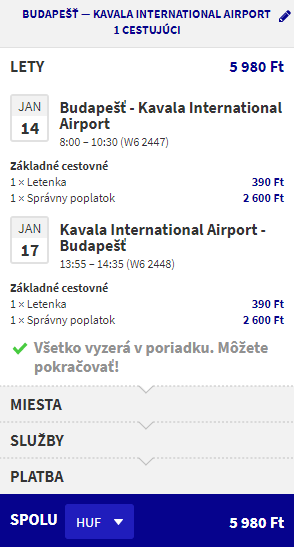 letenky Kavala