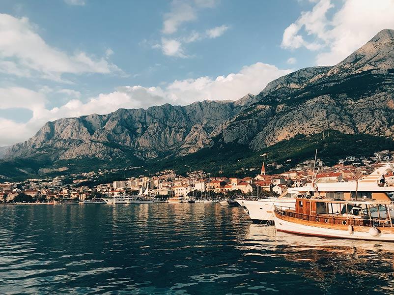 makarska riviera chorvatsko dovolenka