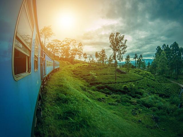 Srí Lanka vlak do Elly