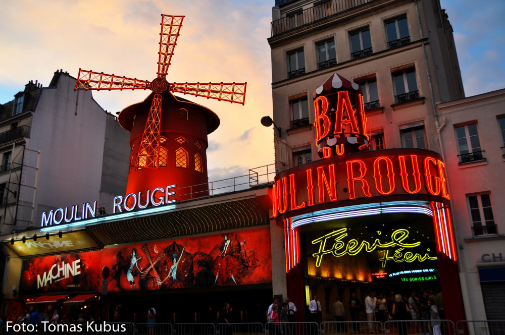 moulin rouge kabaret pariz