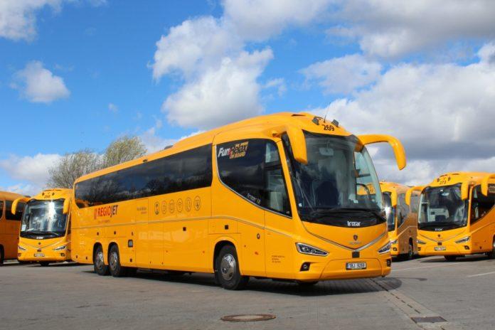 autobus regiojet-u
