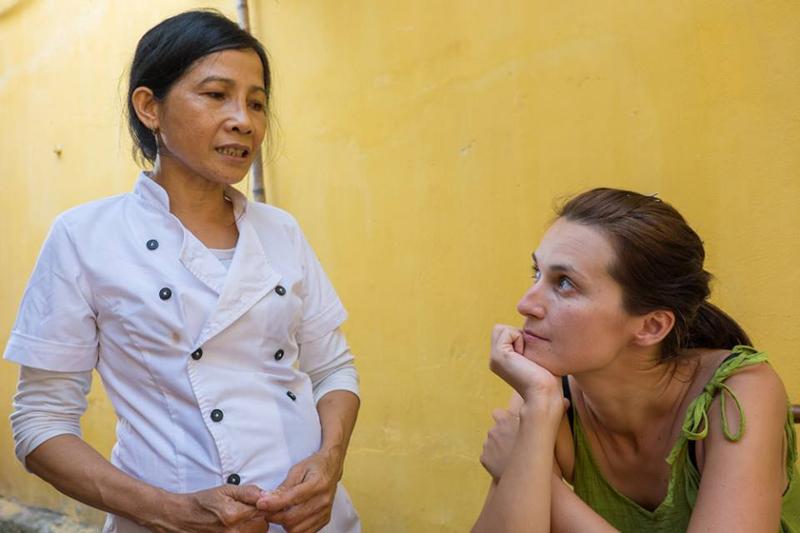 S pani Quyen v Hoi An vo Vietname