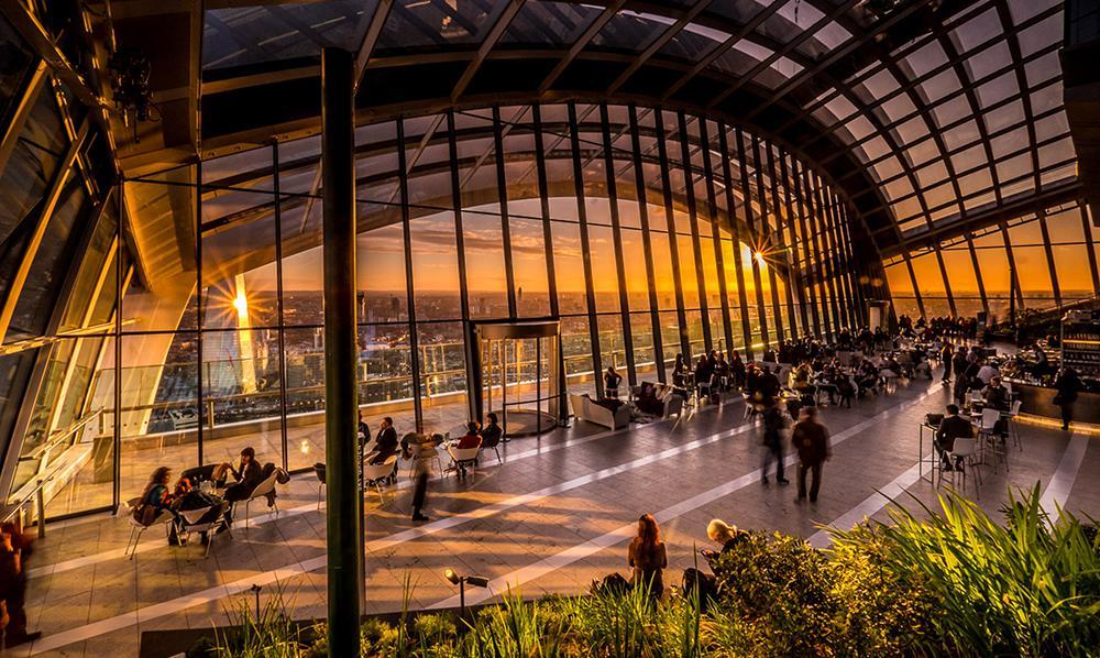 sky Garden Londýn