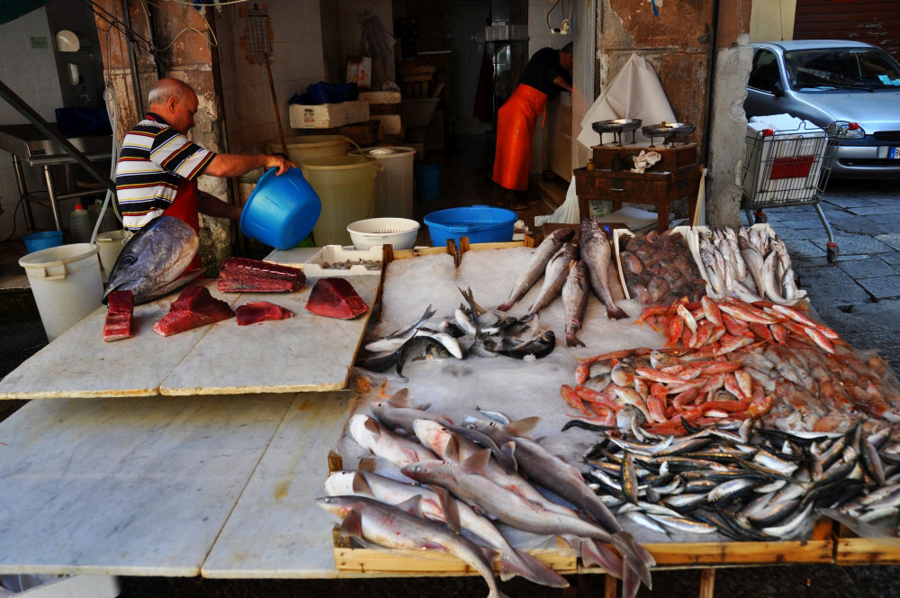catania rybací trh