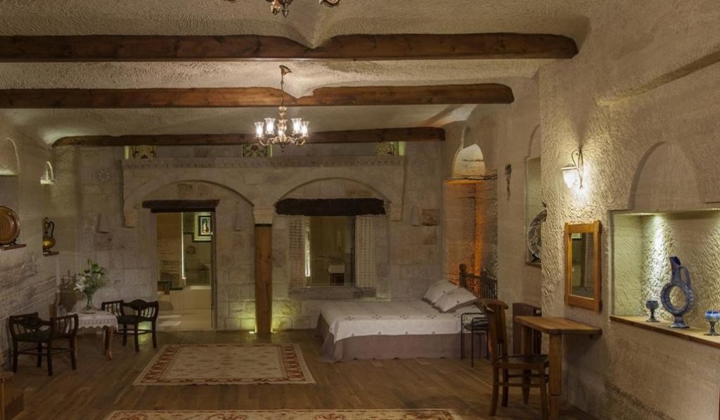 the cave hotel