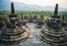 chrám v Indonézii