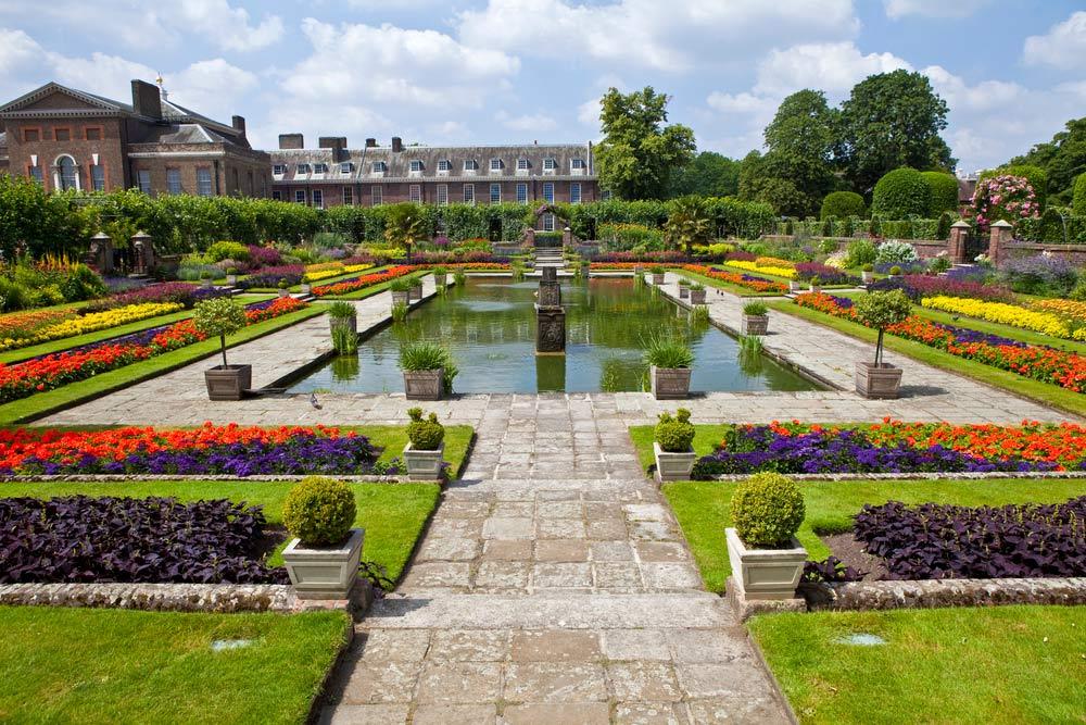 kensingtonské záhrady londýn