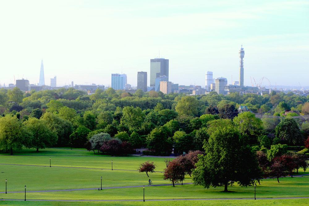 primrose hill v londýne