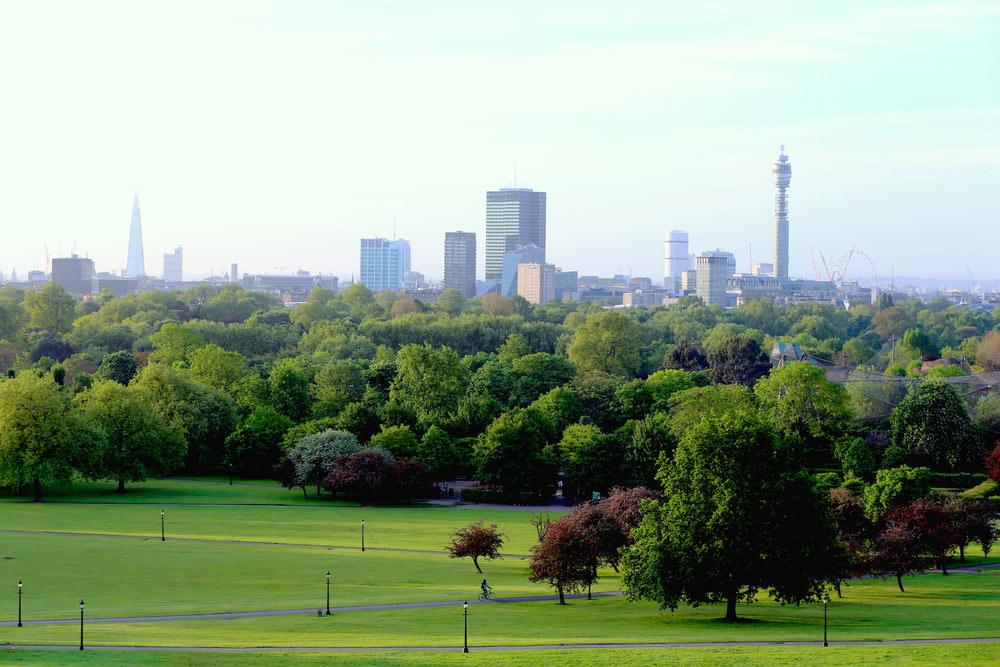 Regents park v Londýne