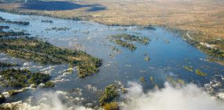Zambia - viktoriine vodopády