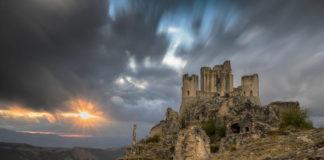castello di rocca calascio, abruzzo