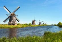 Veterné mlyny, Holandsko