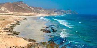 pláž, Salalah, Omán