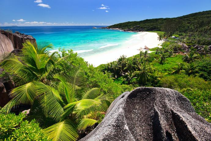 plaž, Seychely