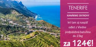 tenerife apríl/máj 2018 za 124€