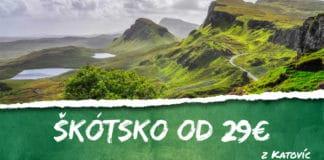 letenky z Katovíc do Škótska od 29€