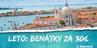 letky z Krakova do Benátok