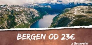 letenky z Budapešti do Bergenu od 23€